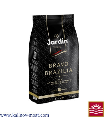 Кофе Jardin natural Bravo Brazilia зерно 1000 г