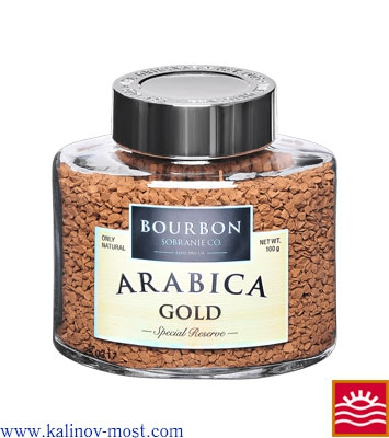 Кофе Bourbon Arabaca Gold кристалл 100 г