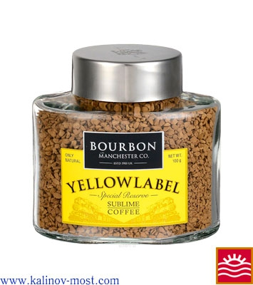 Кофе Bourbon Yellow Label кристалл 100 г