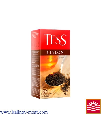 Чай Tess pack Black Tea Ceylon пакетир. 25х2,0 г