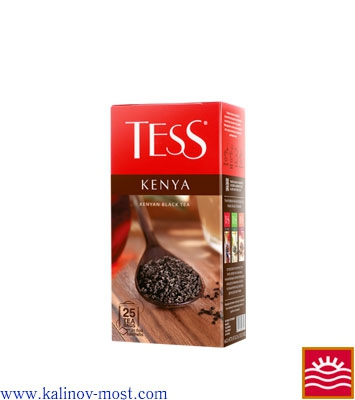 Чай Tess pack Black Tea Kenya пакетир. 25х2,0 г