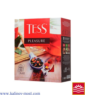 Чай Tess pack Black Tea Pleasure пакетир. 100х1,5 г