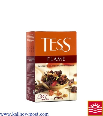 Чай Tess листовой Herbal Tea Flame листовой 90 г
