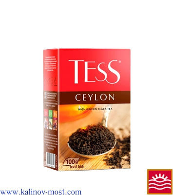 Чай Tess листовой Black Tea Ceylon листовой 100 г