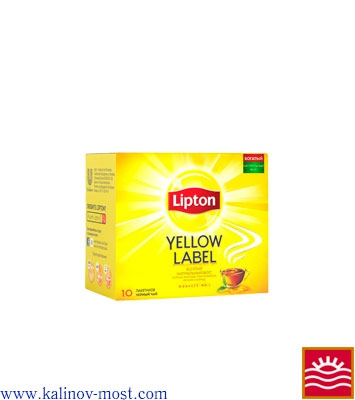 Купить Lipton 025 pack Yellow Label пакетир. 10х2,0 г