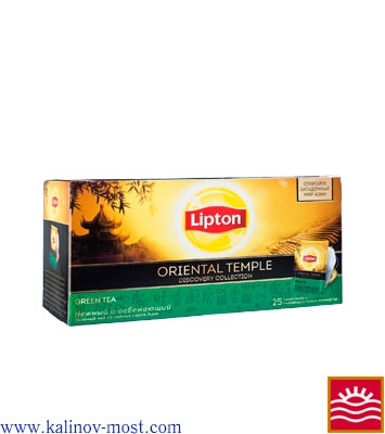 Купить Lipton 025 pack Green Tea Oriental Temple пак/конв 25х1,5 г