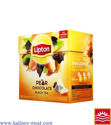 Lipton пирамидки Black Tea Pear Chocolate пак/пирам 20х2,0 г